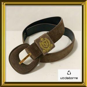 NWOT Genuine Suede Belt